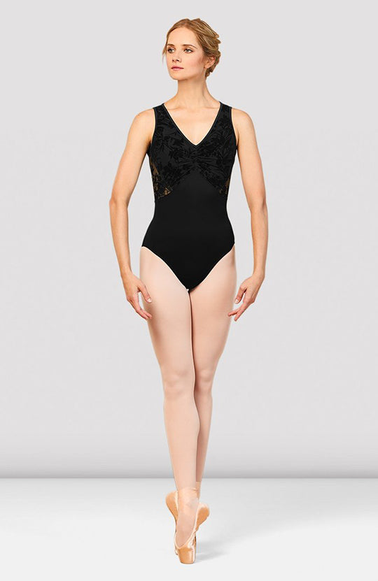 Bloch Cosima V Neckline Open Back Leotard - L7895 Adult