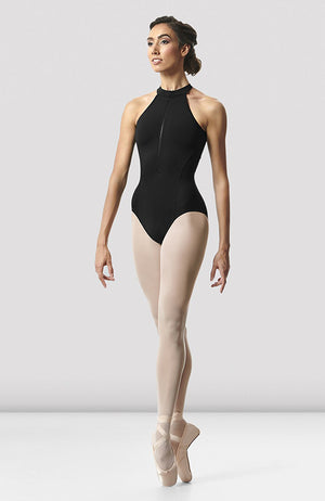 Bloch Rhode Zip Front Open Back Leotard - L8745 Adult