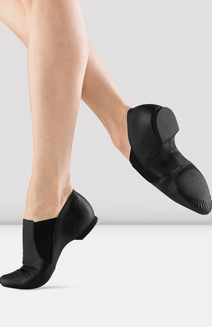 Bloch Leather Elasta Jazz Booties - S0499M Adult