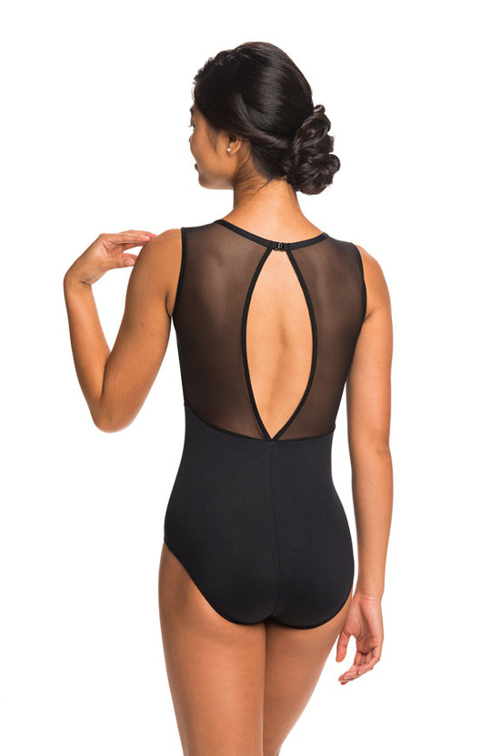 AinslieWear Paloma Leotard with Mesh - AW1057ME Adult