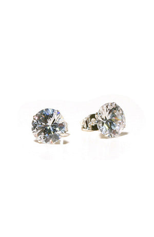 FH2 Cubic Zirconia Stud Earrings - AZ0017