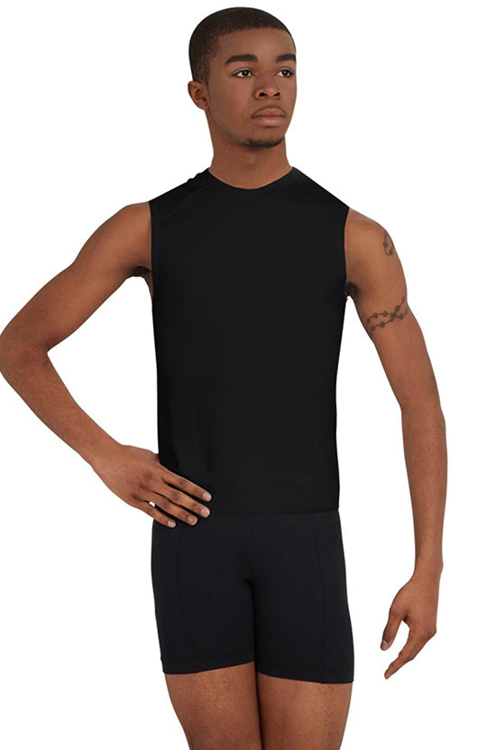Capezio Sleeveless Fitted Muscle Tee - 10359M Adult