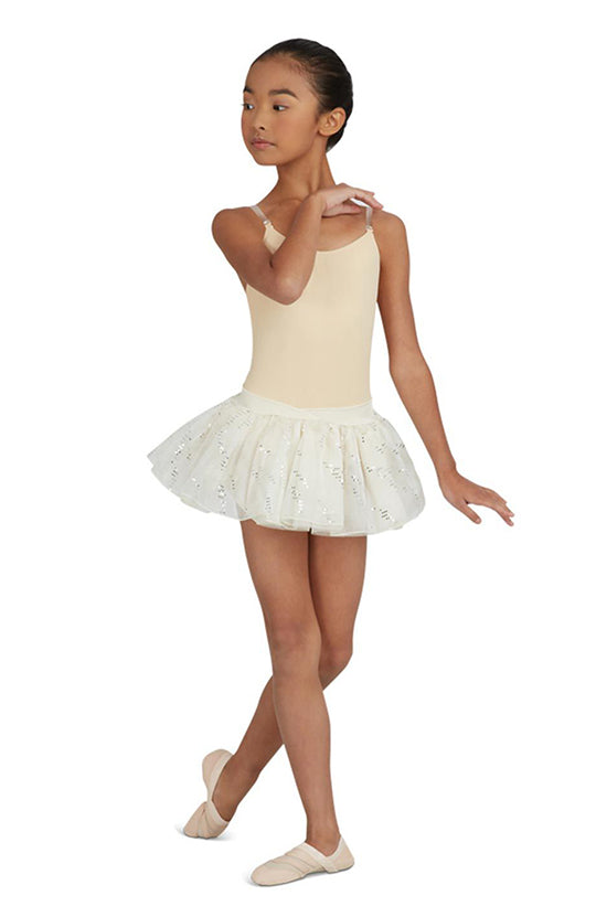 Capezio Camisole Leotard w/ Clear Transition Straps - 3532C Child