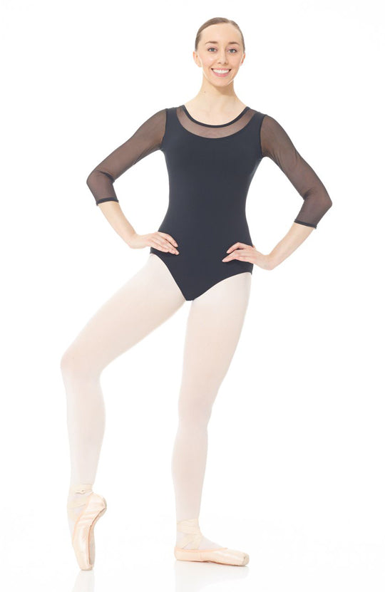 Mondor Dramatique 3/4 Sleeve Leotard - 03636 Adult