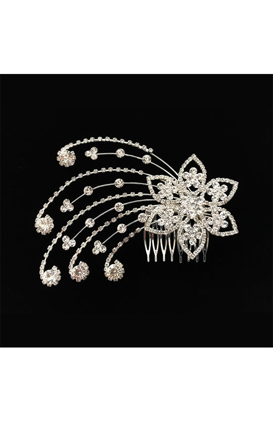 Kissed By Glitter Shooting Stars Hair Comb - SS057