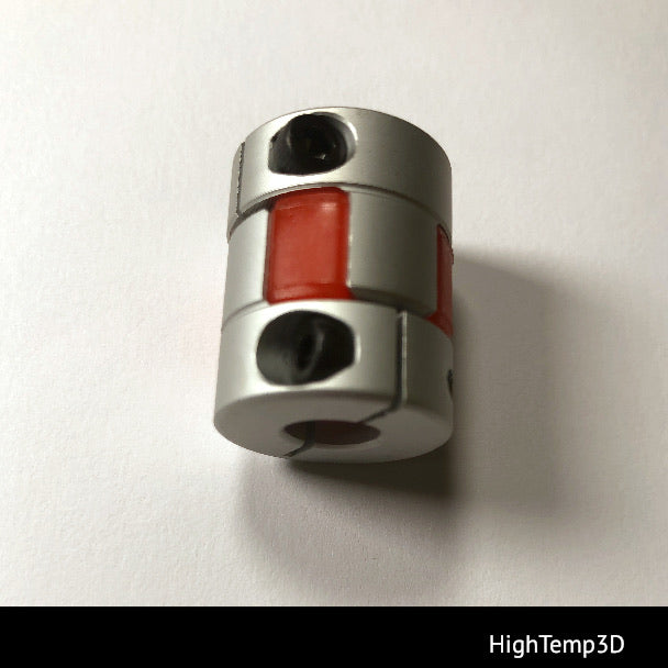 Plum coupler 5 to 8 mm. for 3D printers