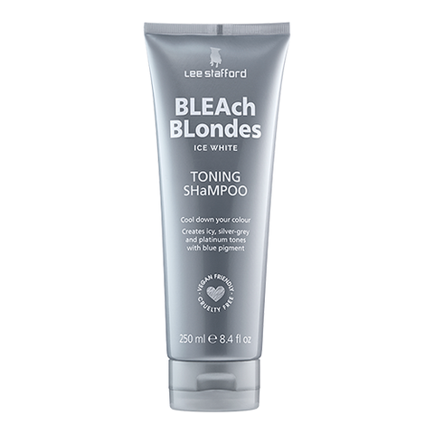 Bleach Blondes Ice White Toning Shampoo