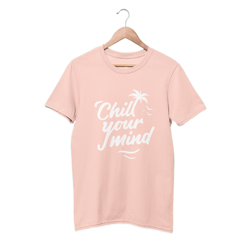 ChillYourMind 'Peachy' Logo T-Shirt (Print)