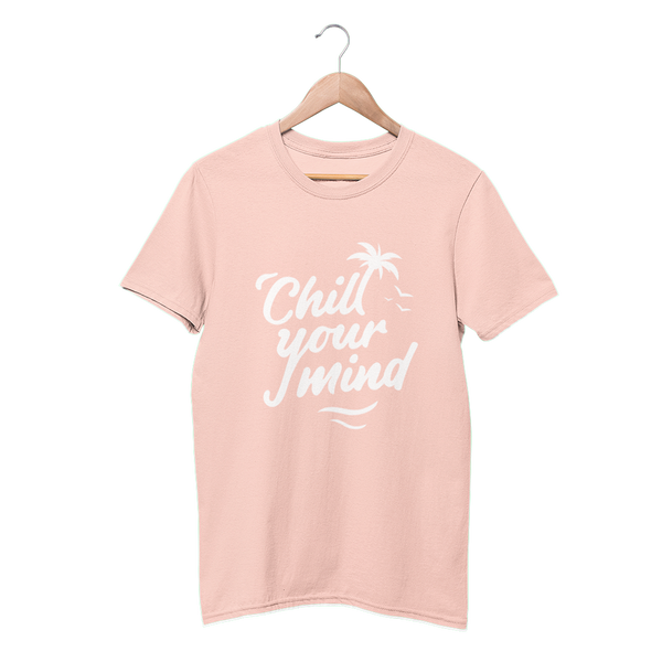 Load image into Gallery viewer, ChillYourMind 'Peachy' Logo T-Shirt (Print)