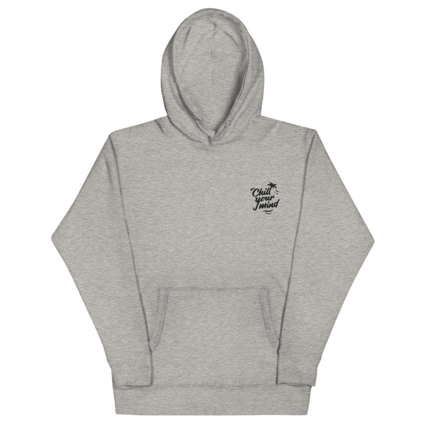 Load image into Gallery viewer, ChillYourMind - Embroidery Grey Hoodie