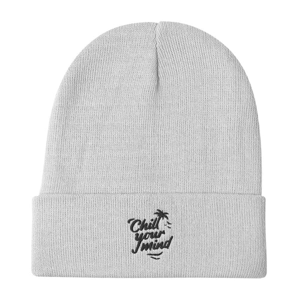 Load image into Gallery viewer, ChillYourMind Embroidered Beanie