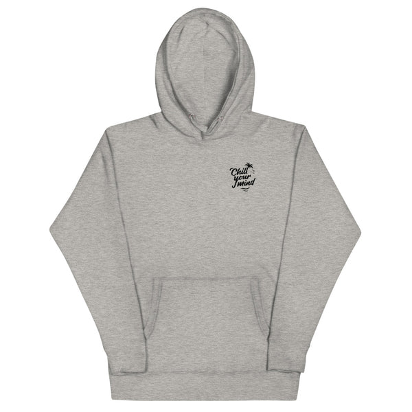 Load image into Gallery viewer, ChillYourMind - Grey Hoodie Front + Back Print