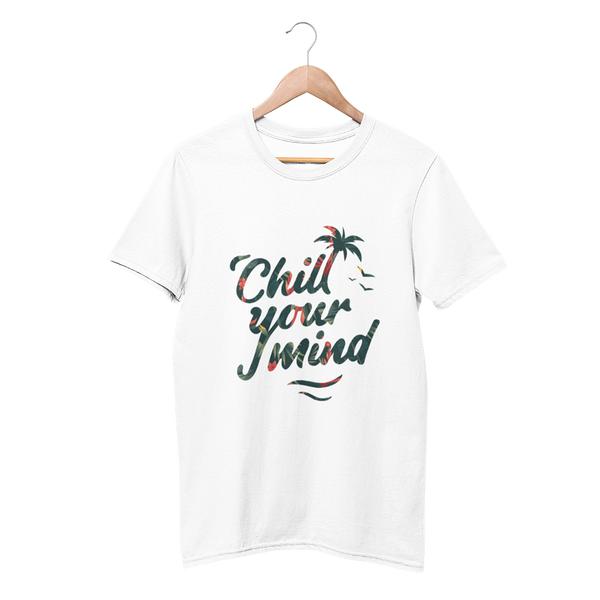 Load image into Gallery viewer, ChillYourMind Colored Logo T-Shirt (Print)