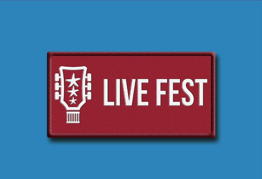 Linear Live Fest™ Iron-on Patch