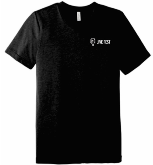 Black Live Fest™ Short Sleeve T-shirt