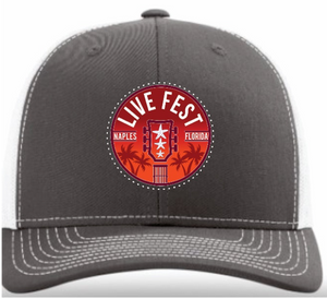 Charcoal Grey Live Fest™ Patch Trucker Hat