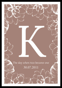 The day when two became one-kustomoitu juliste, kanerva