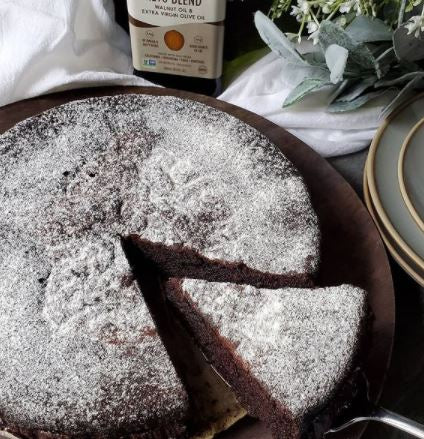 Keto Chocolate Olive Oil Cake