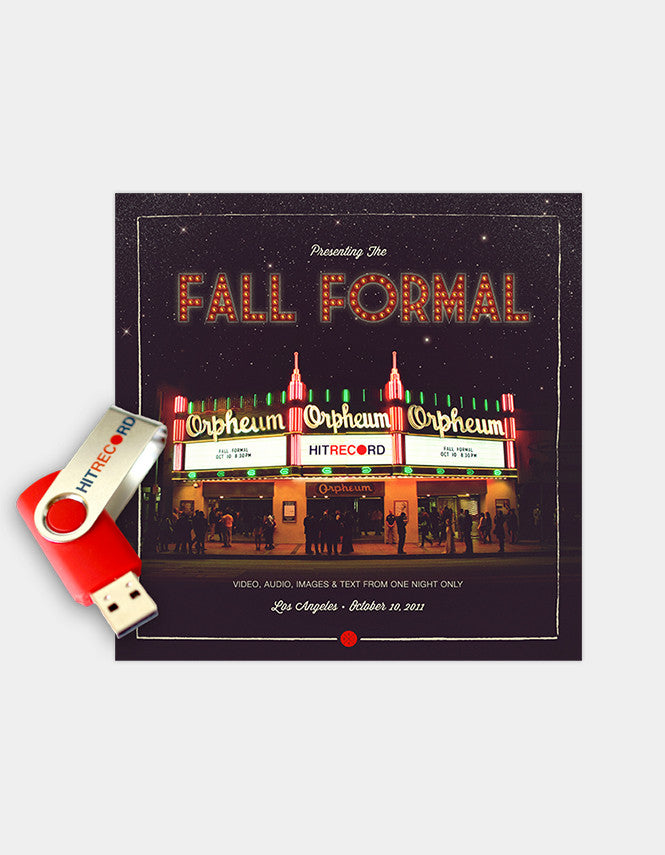 Presenting the Fall Formal