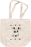 Follow Your Art <3 Tote