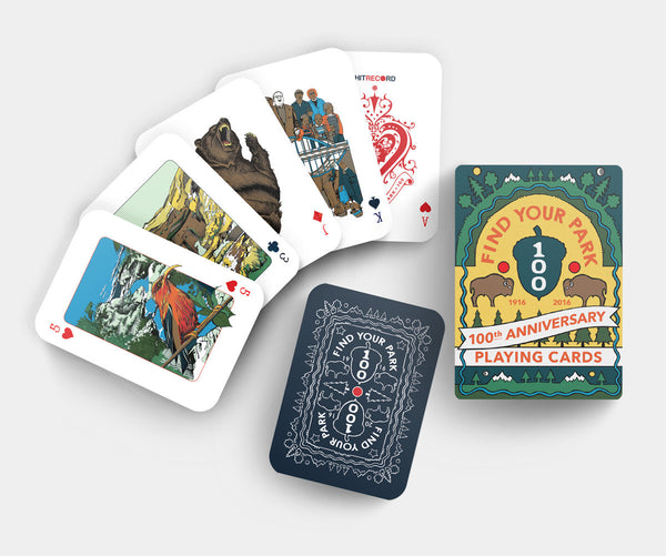 National Parks - Find Your Park Playing Cards