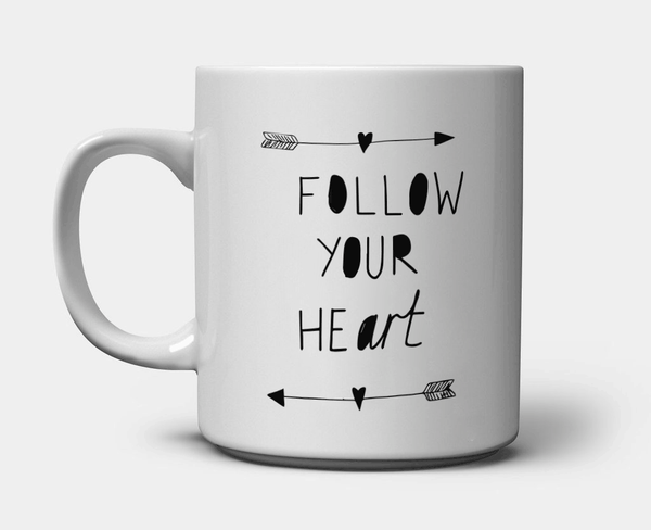 Follow Your Art <3 Mug
