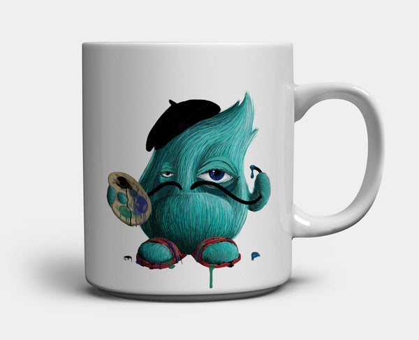Morning Monster Mug — Darko