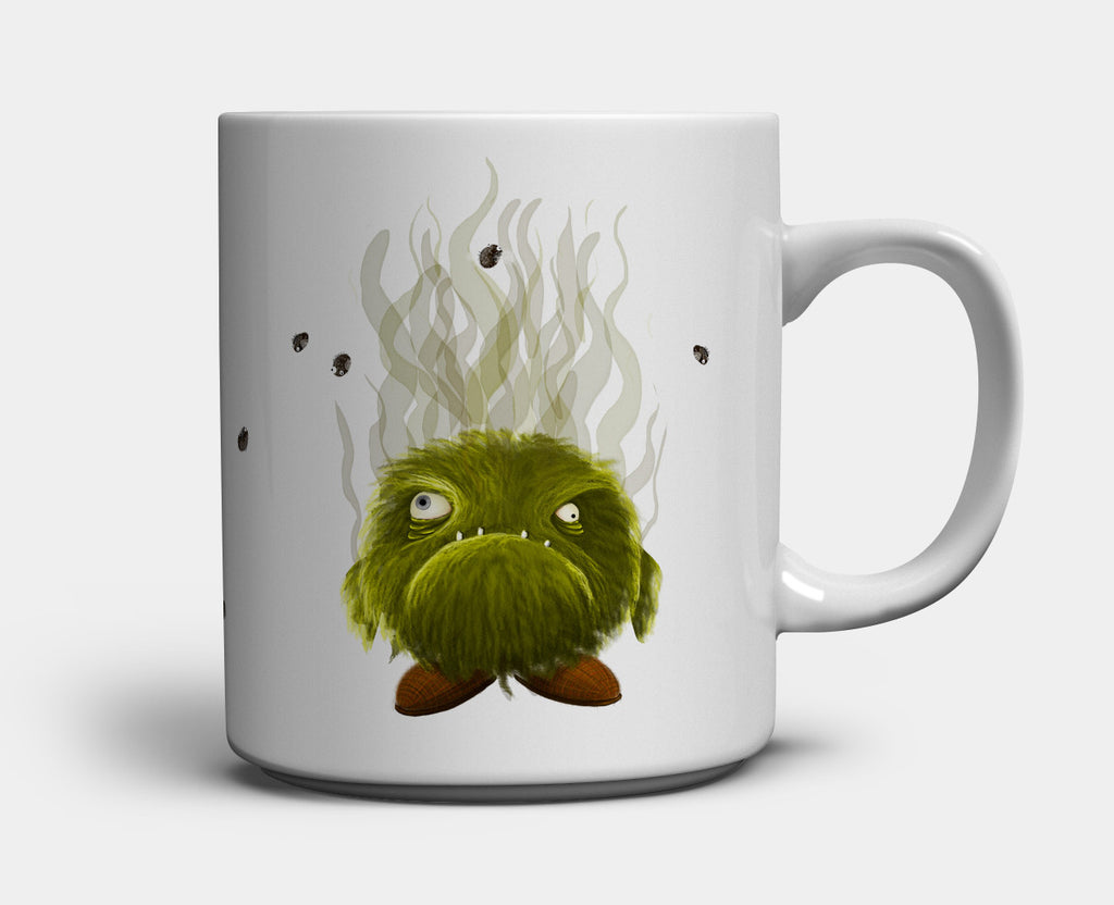 Morning Monster Mug — Hallie Trocious