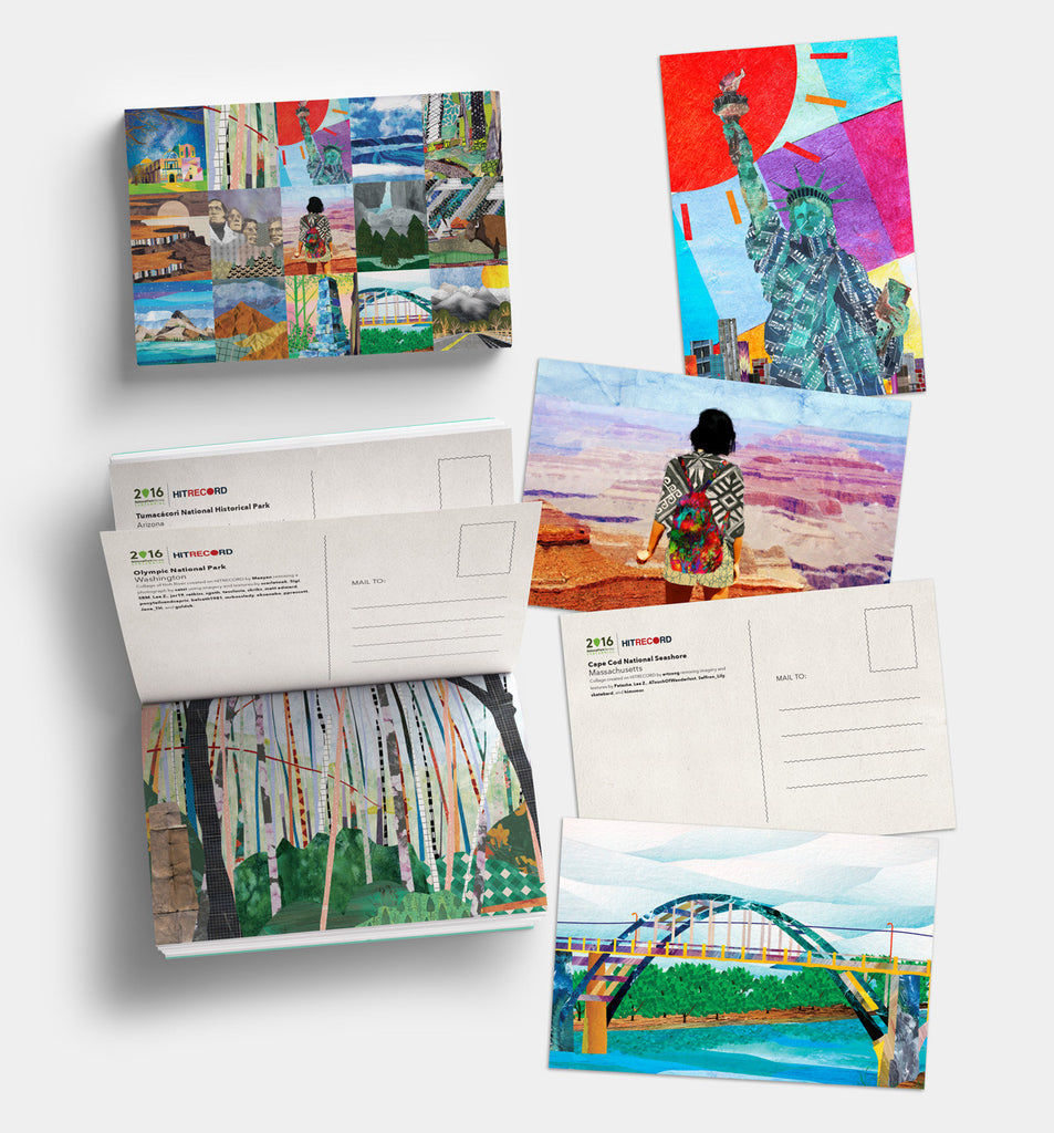 U.S. National Parks Centennial Postcards - 15 Postcard Set