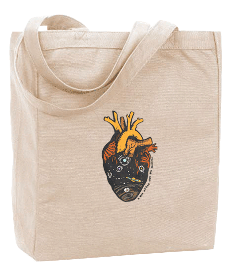A Love Affair with the Universe Tote