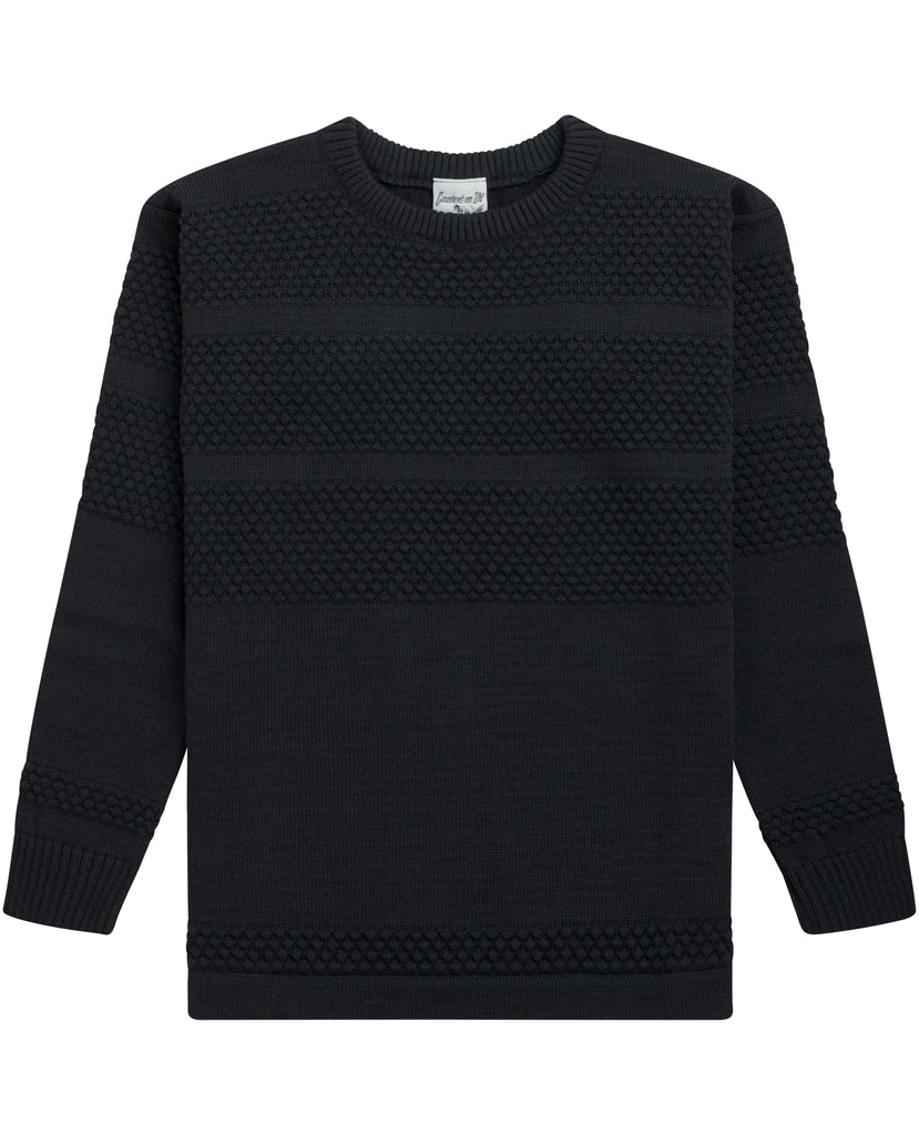 FISHERMAN crew neck<br>field grey