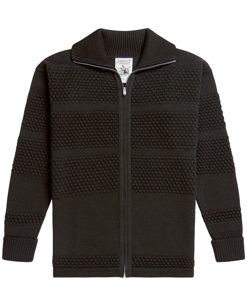 FISHERMAN full zip | lang lynlås<br>lacquer green