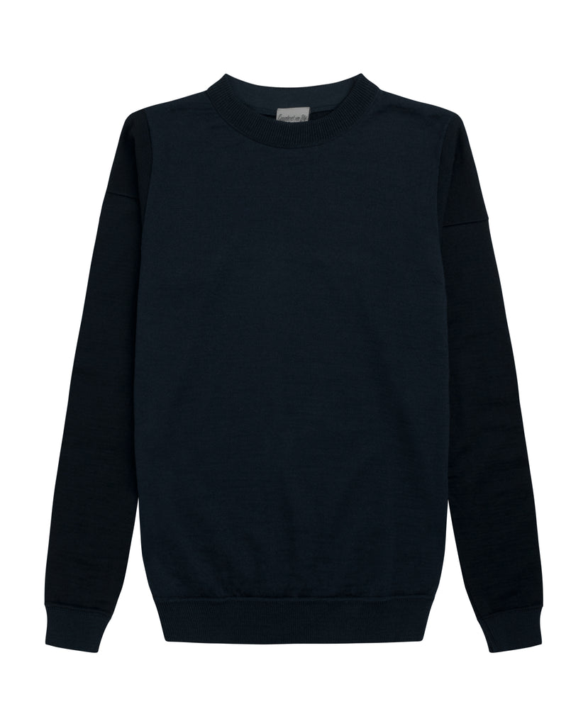 RELATIVE crew neck<br>blue gene combo