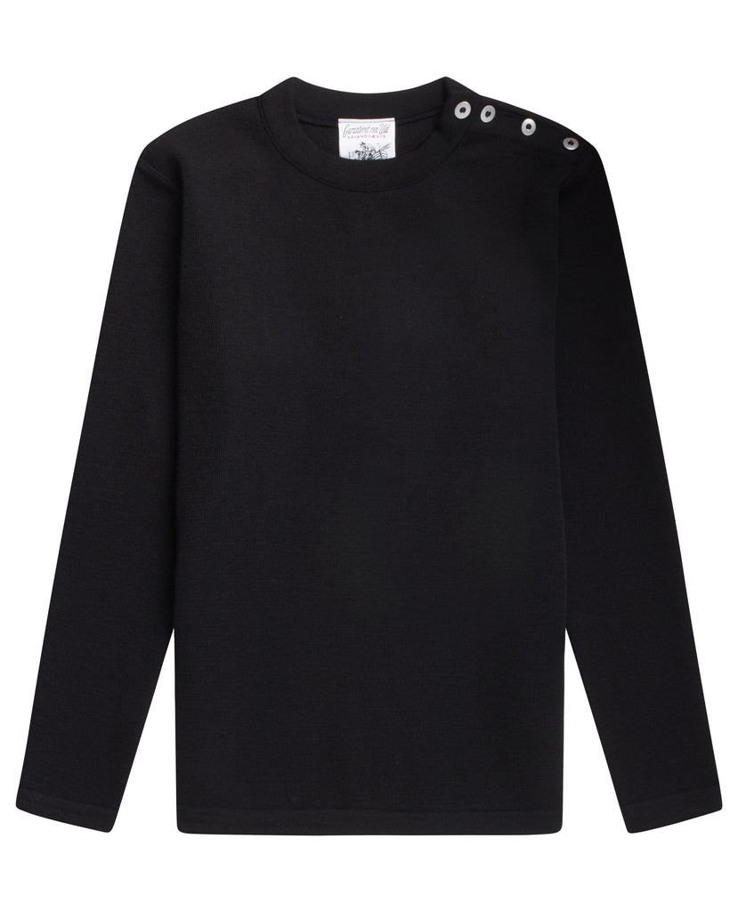 NAVAL crew neck | rund hals<br>black void [0]