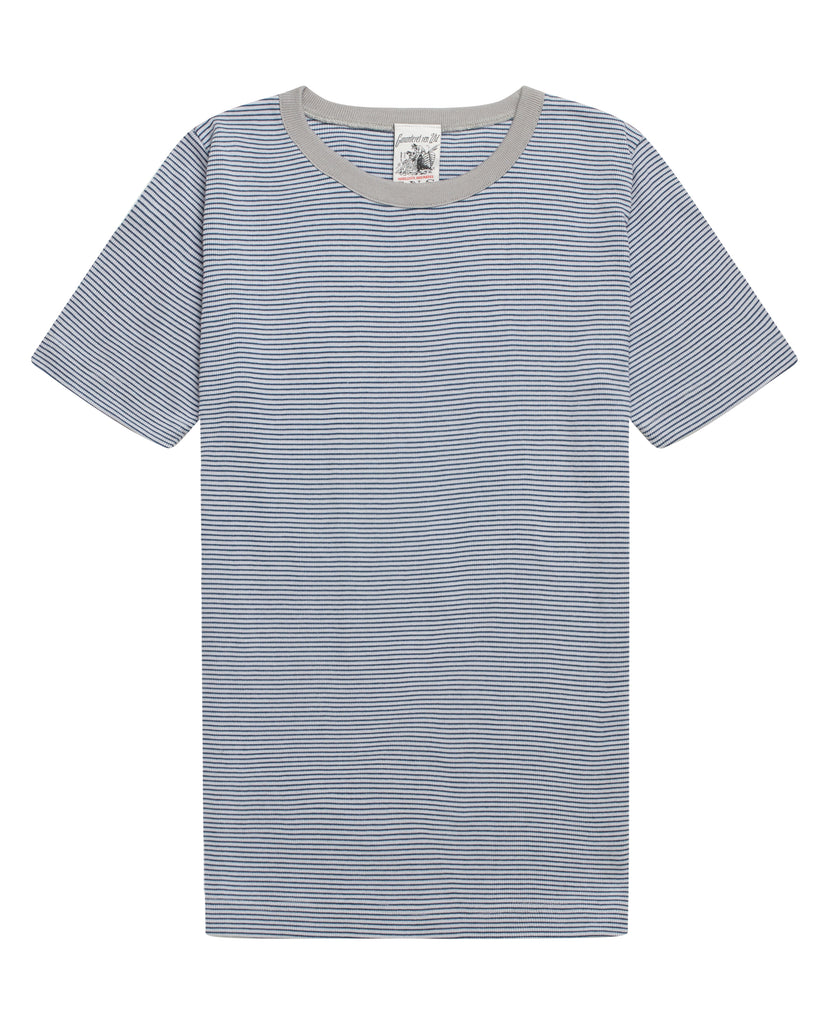 ADAPT0R t-shirt<br>grey matter / metallic blue