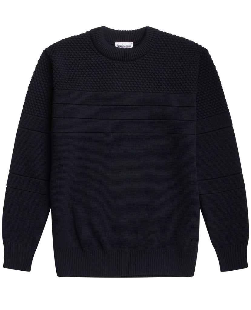 SENTIMENTAL crew neck | rund hals<br>navy blue [2]
