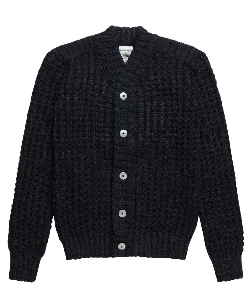 ION cardigan<br>navy blue mix