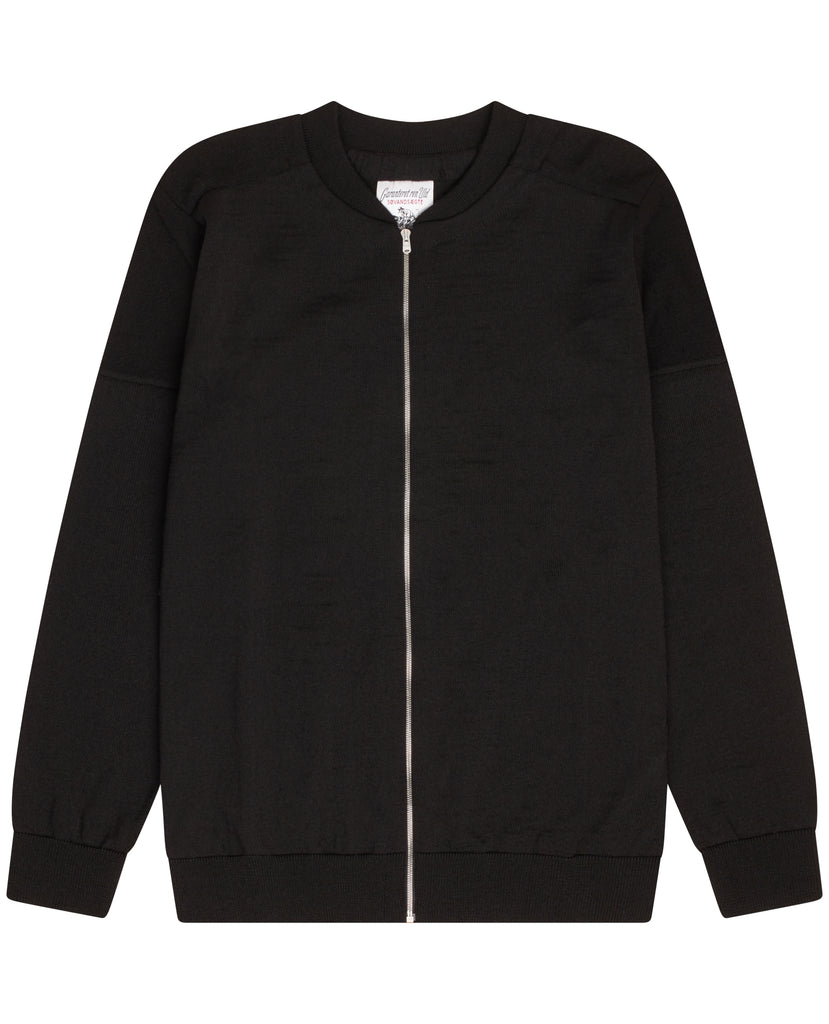 FATUM full zip | lang lynlås<br>black void