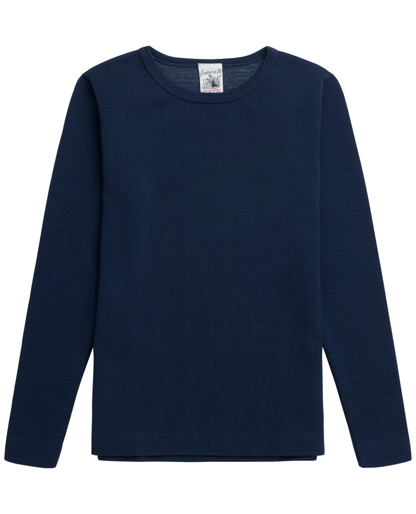 HANDLE crew neck<br>real blue