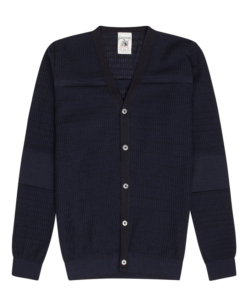 LURE cardigan<br>navy blue blend