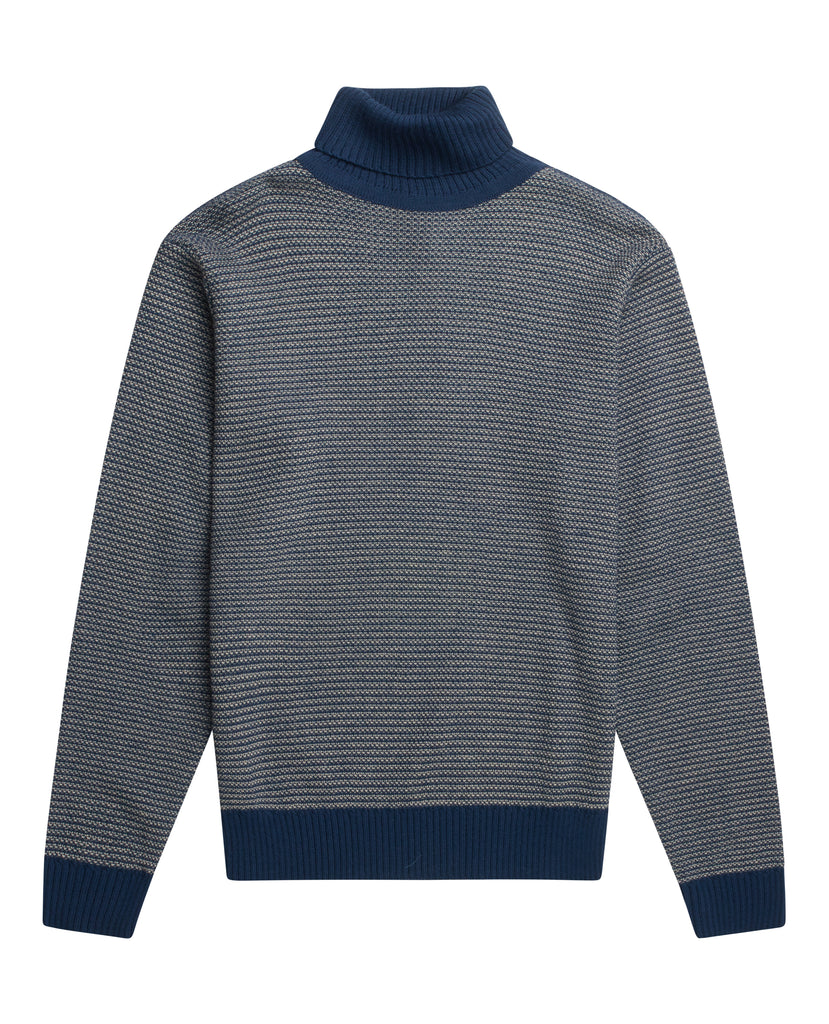 TEXT sweater<br>sea blue