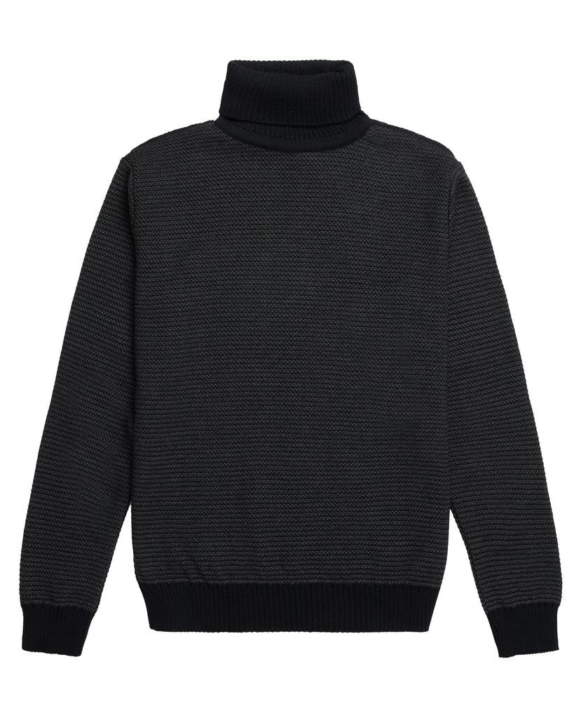 TEXT sweater<br>black