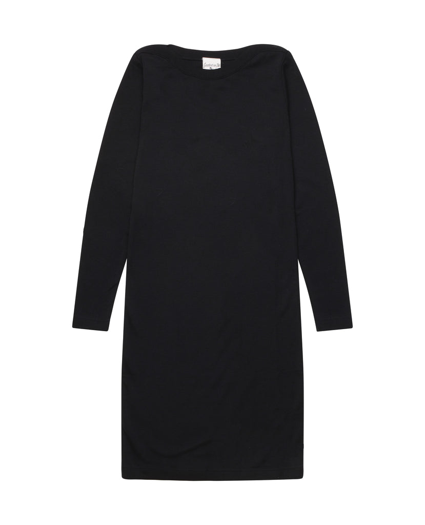 HELIX plain dress<br>black