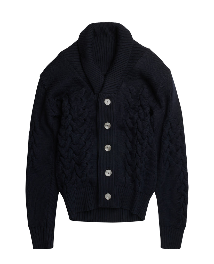 MARKED cardigan<br>navy blue [M]