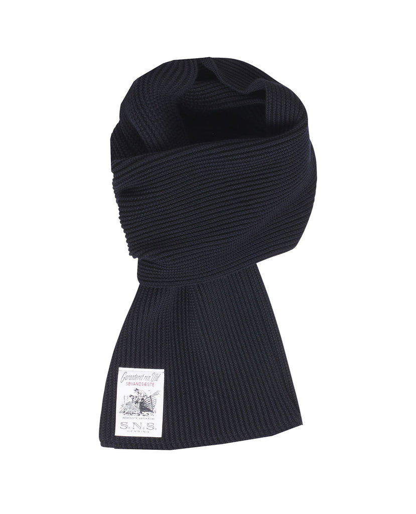 SPLIT scarf<br>navy blue (M)