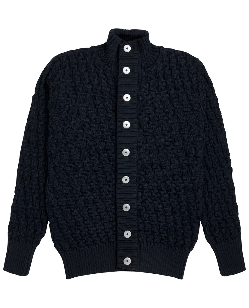 STARK cardigan<br>sea blue