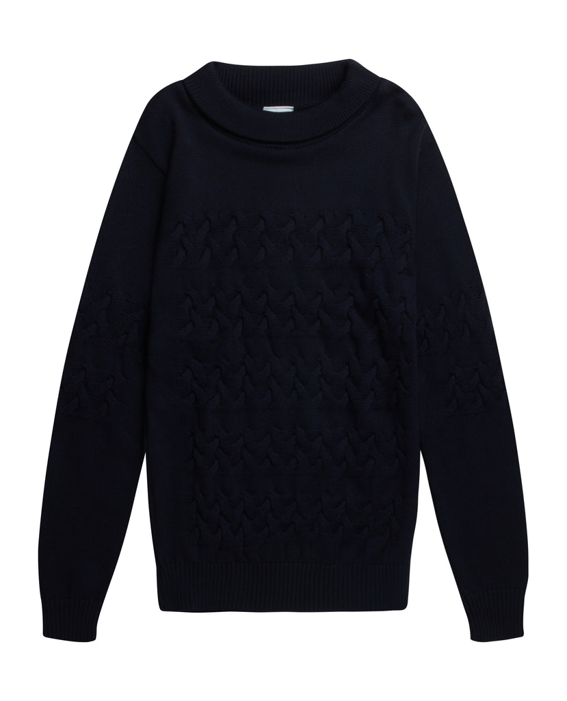 BAND sweater<br>navy blue [M]