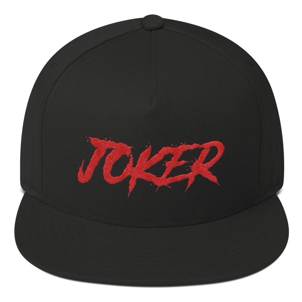 Flat Bill Joker Cap
