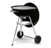 47cm Compact Kettle Charcoal BBQ - Black