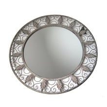Ornate Round Mirror 67cm
